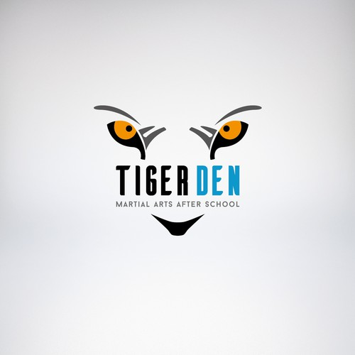 Logo concept for martial arts school