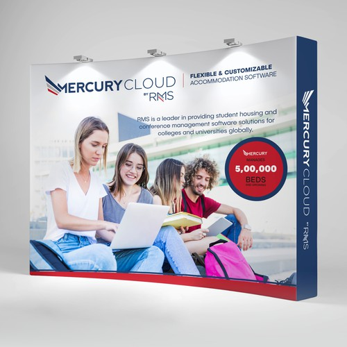 Trade show Booth - Mercury Cloud