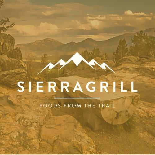 Minimal Logo Restaurant Grill