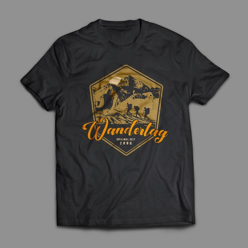 Wandertag (Hiking Day) T-Shirt