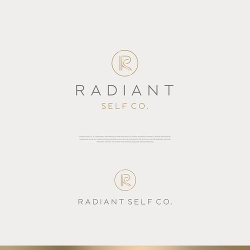Logo concept for Radiant Self Co.