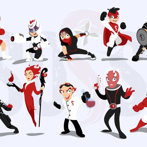 heroes and villains of SOSS