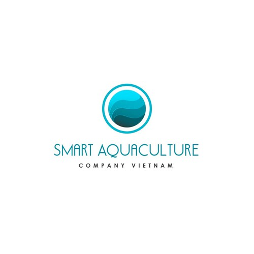 Create a captivating company logo for Smart Aquaculture Company