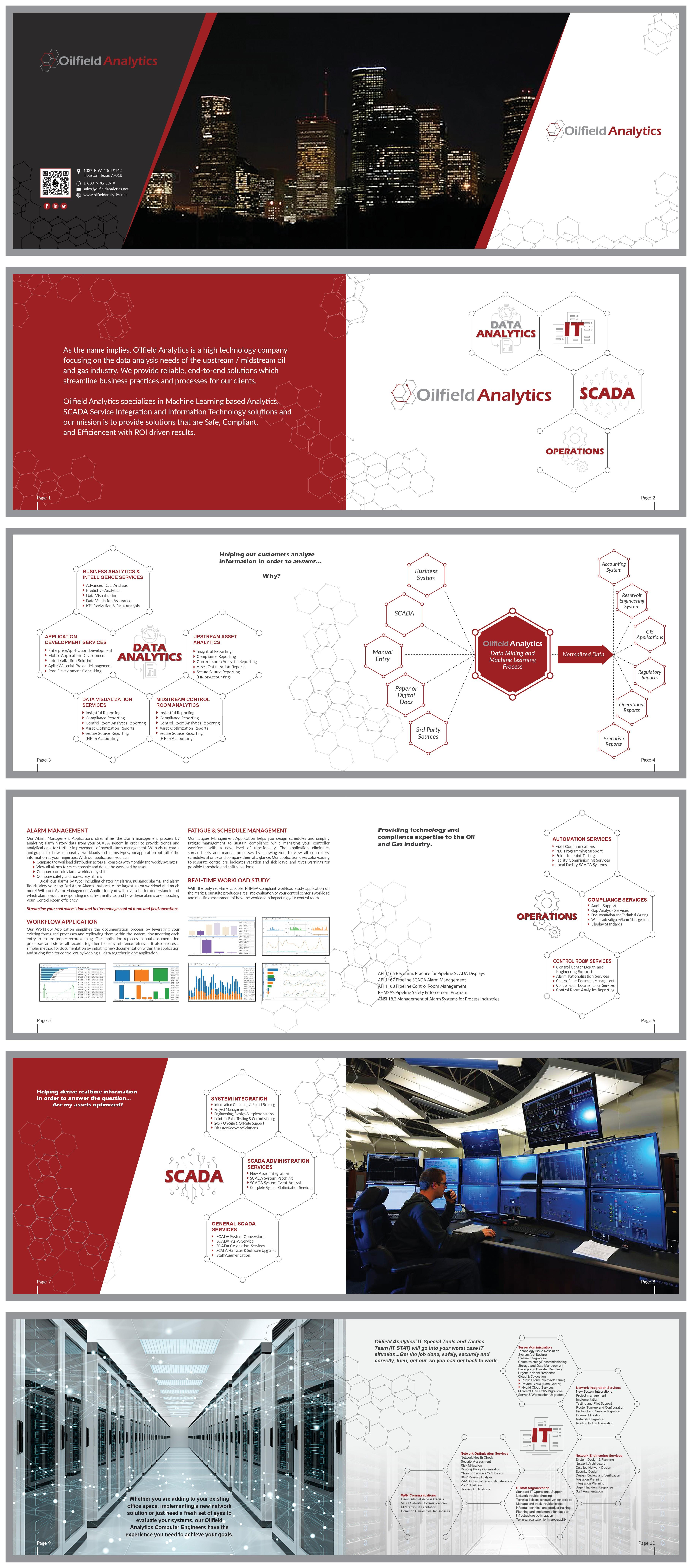 Tech Startup Brochure