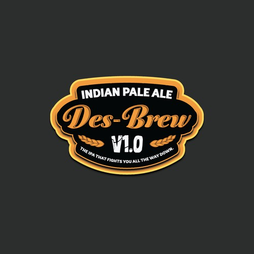 Fancy a challenge? Create the logo for v1.0 of Des-Brew. The beer for the man that loves to BBQ.