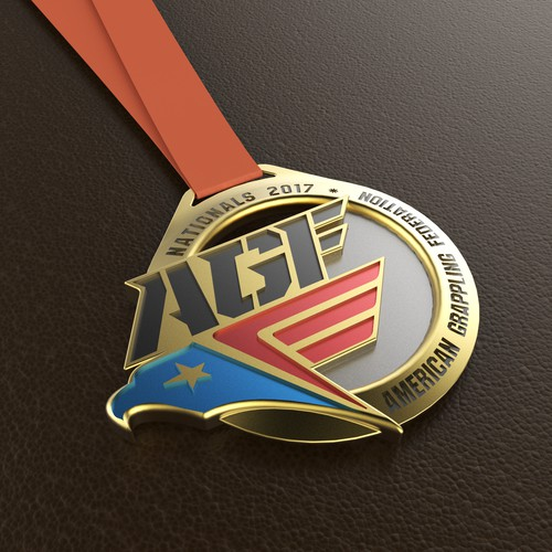 Jiu Jitsu Medal Design