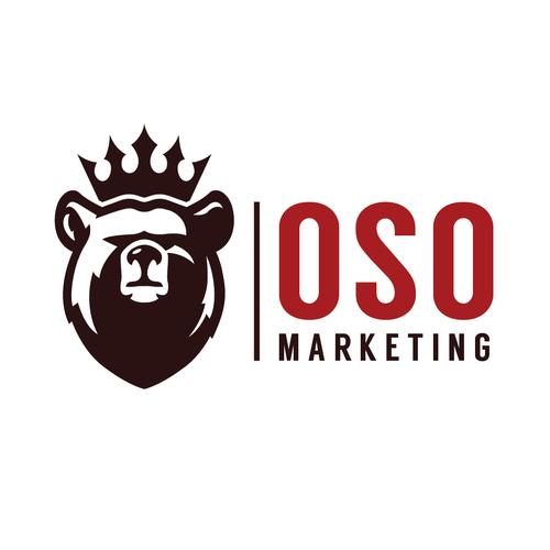Bold logo for OSO Marketing
