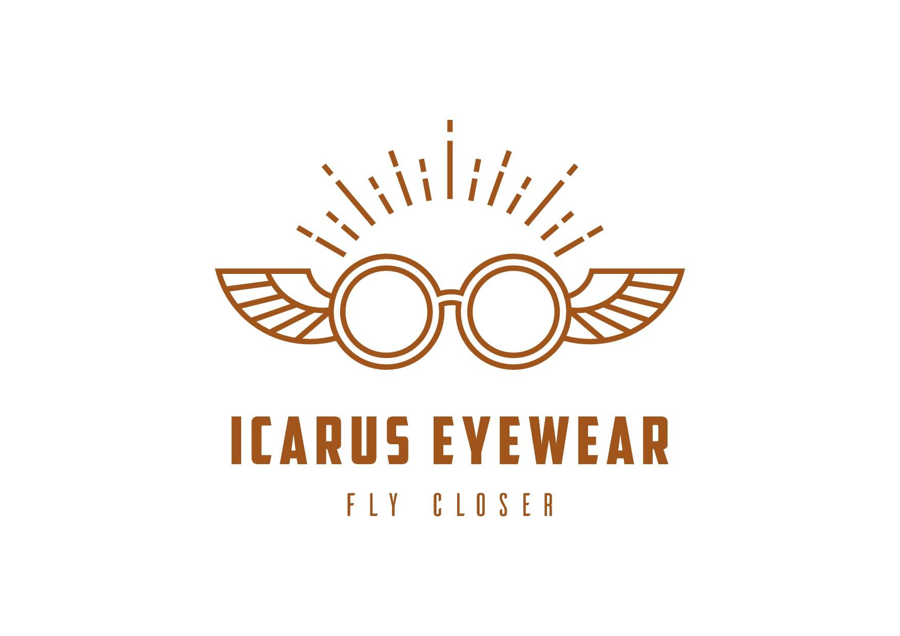 Icarus Eyewear logo design