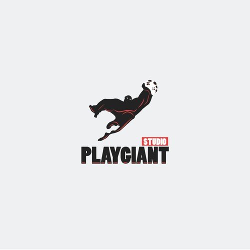 Bold logo for Play Giant Studio
