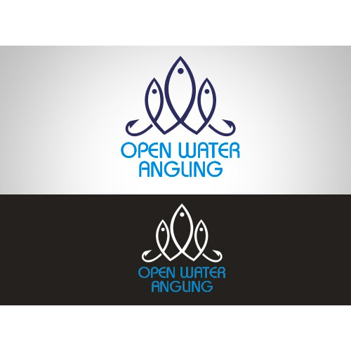 Create the next logo for Open Water Angling Company