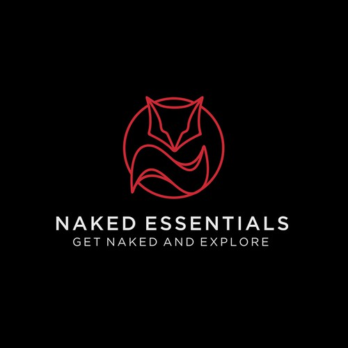 Naked Essentials - Fox Lineart Logo