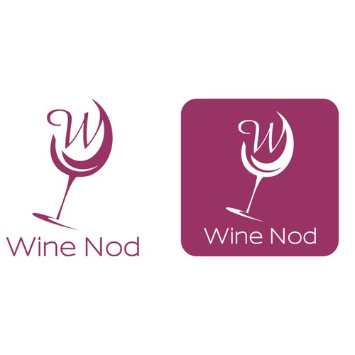 Create a winning logo for a modern wine bar