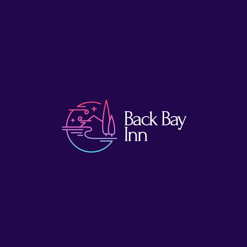 Logo for a seaside Inn.