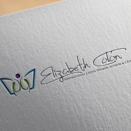 Brand Identity for Elizabeth Colón, Inspirational & Motivational Speaker
