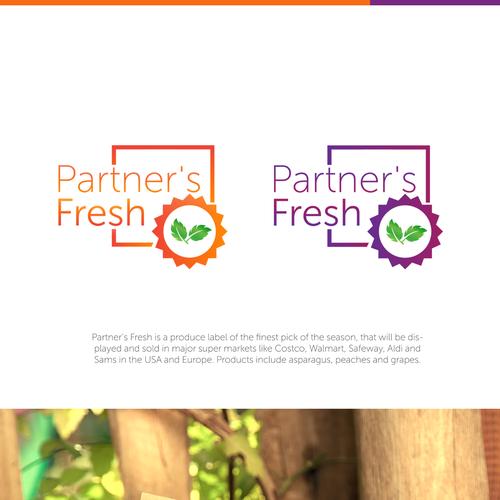Fresh logo/label for Partner's Fresh