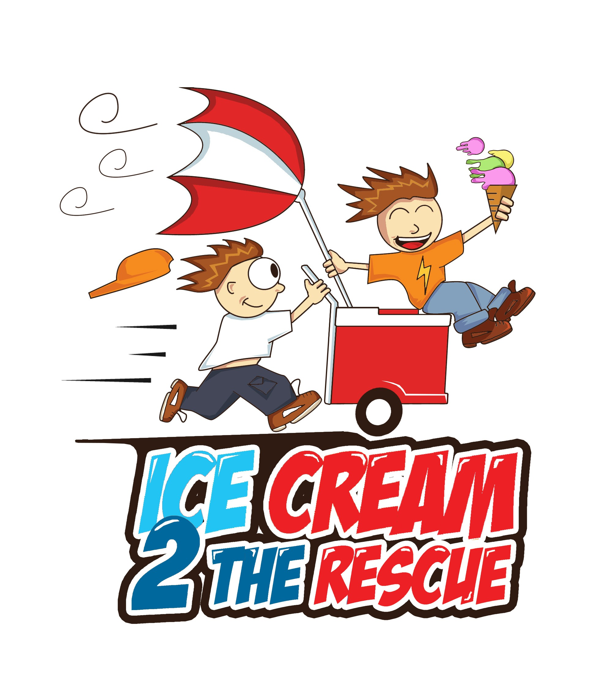 Kids Ice Cream Push Cart Business Helping Teach Other Kids Math & Business Skills