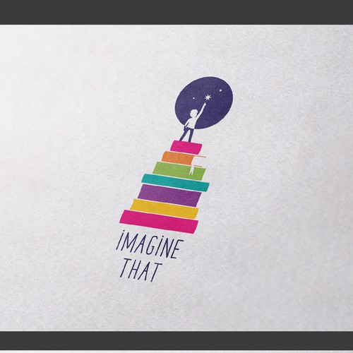 Logo concept for children book publishing company