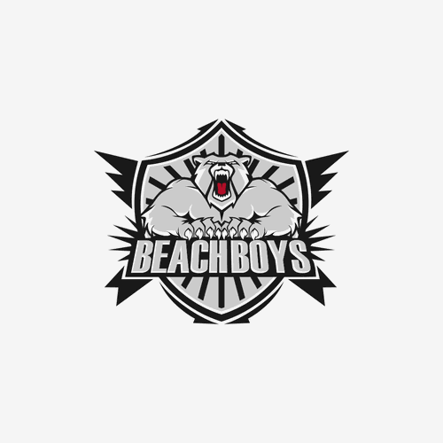 Character logo concept for BeachBoy
