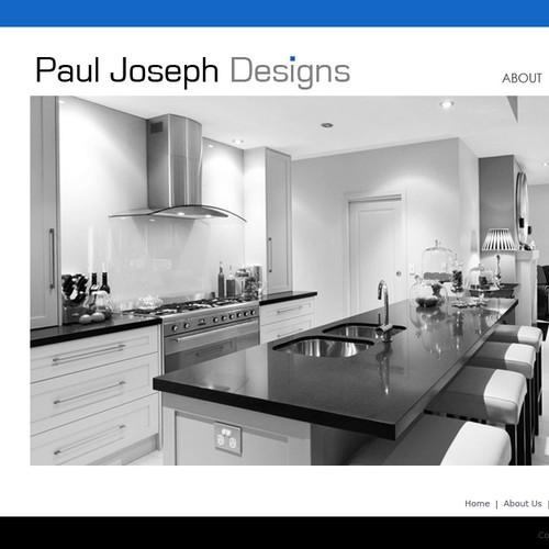 Create the next website design for Paul Joseph Construction