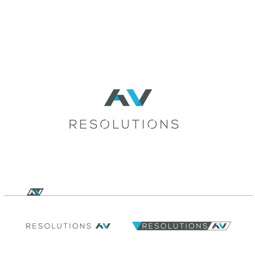 logo for a new company, Resolutions AV.
