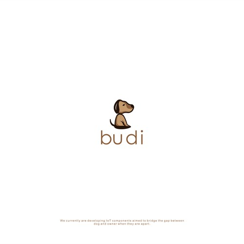 "Design Logo For Pet IoT Brand ""budi"""