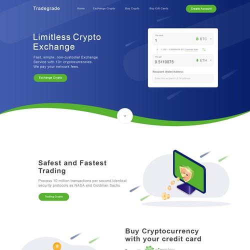 tradegrade - Exchange, Trading, Buy Cryptocurrency