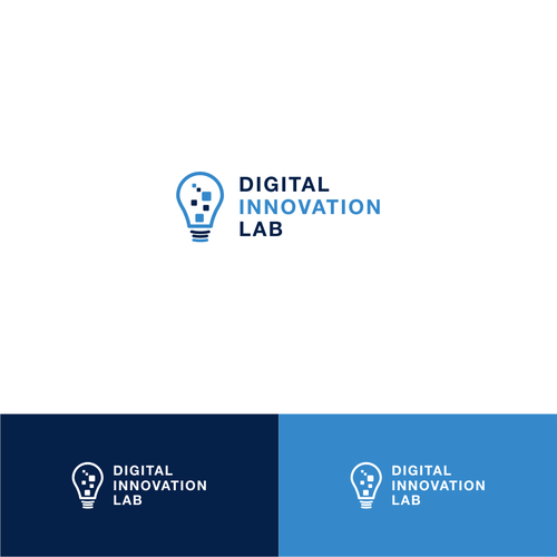 Logo design for a university Digital Innovation Lab