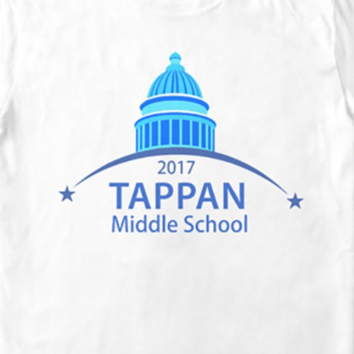 T-shirt design for Tappan middle school