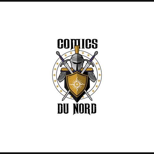 Comics Du Nord logo art