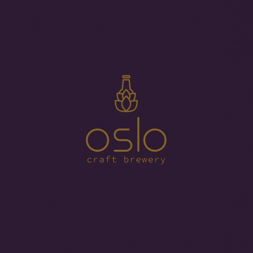LOGO DESIGN CONCEPT FOR OSLO CRAFT BEER