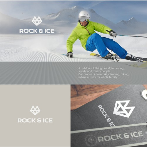 Create a logo for the outdoor clothing brand