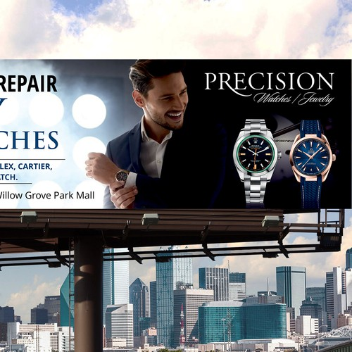 Luxury Watches Billboard