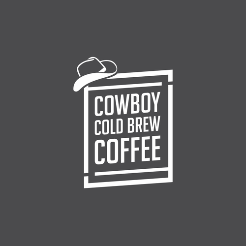 Logo concept for Cowboy Cold Brew Coffee