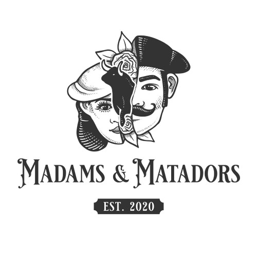 Logo Design for Madams & Matadors