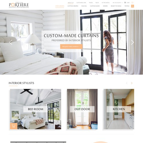 Curtain and Interior modern Design