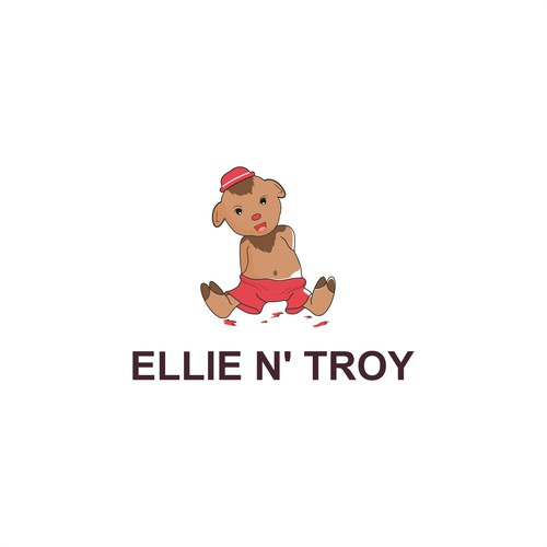 Logo concept for ELLIE N' TROY