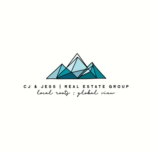 Logo Concept for CJ & Jess Real Estate Group