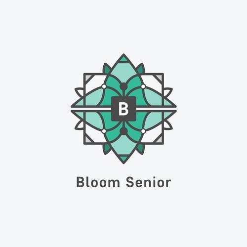 Logo for a Senior care center