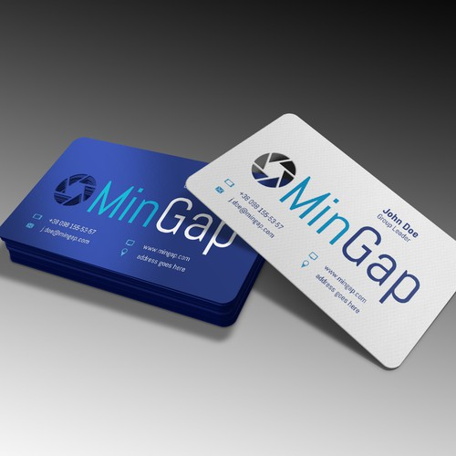 Online Marketing business card for MinGap