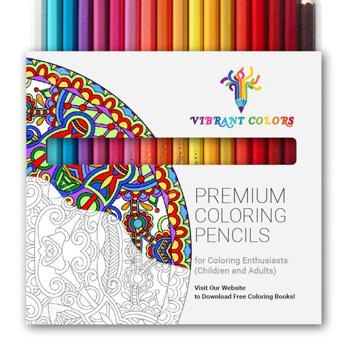 Coloring pencils package