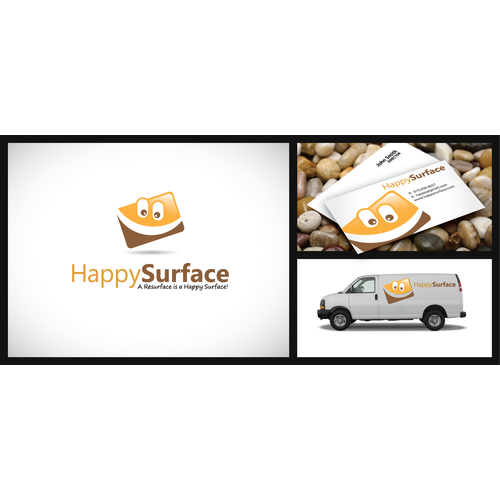 Help Happy Surface with a new logo