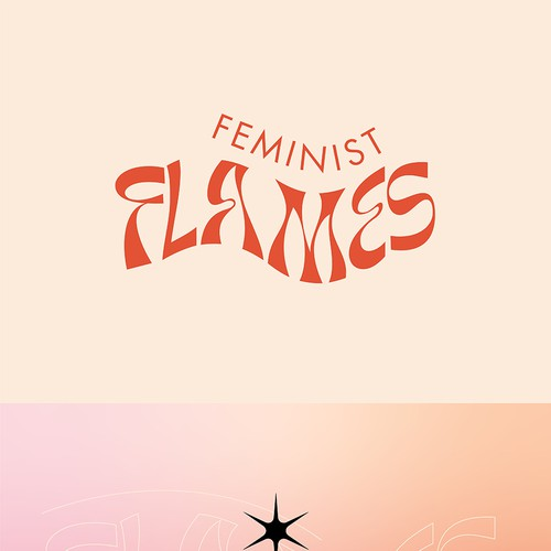 Feminist Flame - Candle by Woman