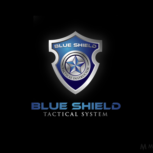 Create a police defensive tactics system logo.