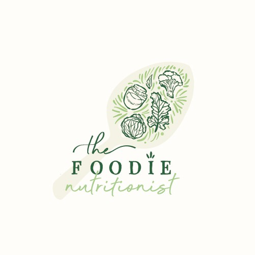Logo for a holistic nutritionist