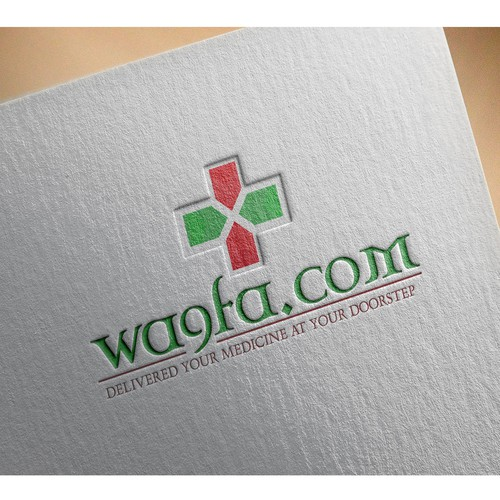 Logo concept for medical & pharmaceutical industry