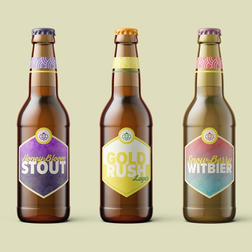 Brand identity for a beer brewery