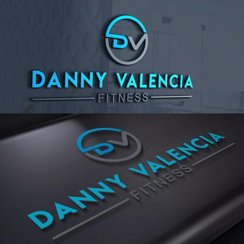 DANNY VALENCIA FITNESS  LOGO