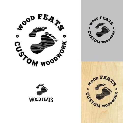 Bold Logo Concept for Woodworker