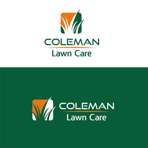 bold logo for landscape