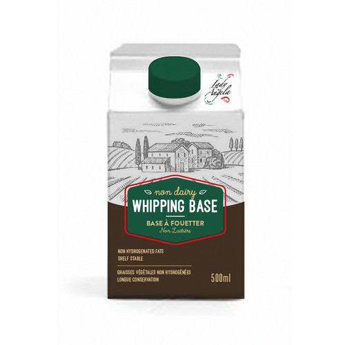 whipping base - food packaging